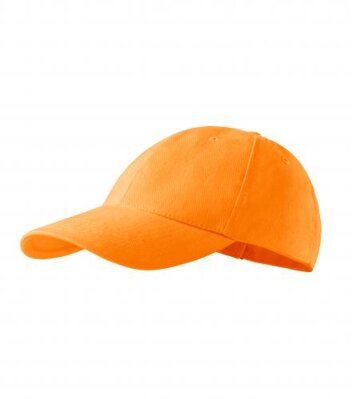 6P - Čepice unisex (tangerine orange)