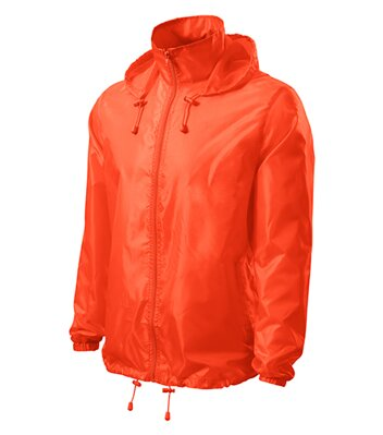 Windy - Větrovka unisex (neon orange)