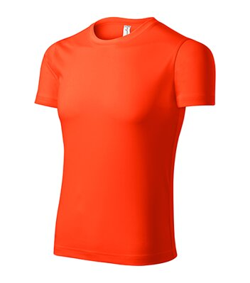 Pixel - Tričko unisex (neon orange)